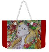 Young Summer  Weekender Tote Bag