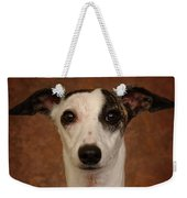 Young Whippet Weekender Tote Bag
