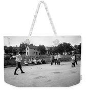 Young Willie Mays Weekender Tote Bag