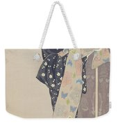 Young Woman In A Summer Kimono, 1920 Weekender Tote Bag