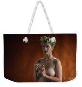 Young Woman Nude 1729.178 Weekender Tote Bag