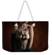 Young Woman Nude 1729.181 Weekender Tote Bag