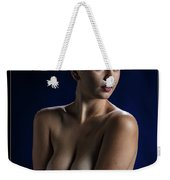 Young Woman Nude 1729.184 Weekender Tote Bag