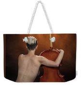 Young Woman Nude 1729.190 Weekender Tote Bag