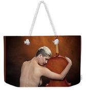 Young Woman Nude 1729.191 Weekender Tote Bag