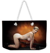 Young Woman Nude 1729.193 Weekender Tote Bag