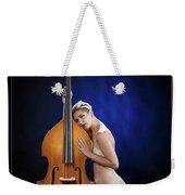 Young Woman Nude 1729.195 Weekender Tote Bag