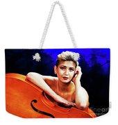 Young Woman Nude 1729.199 Weekender Tote Bag