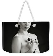 Young Woman Nude 1729.551 Weekender Tote Bag