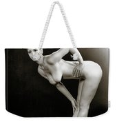 Young Woman Nude 1729.560 Weekender Tote Bag