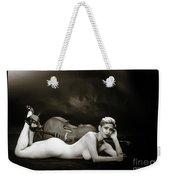Young Woman Nude 1729.567 Weekender Tote Bag