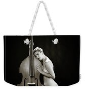 Young Woman Nude 1729.570 Weekender Tote Bag