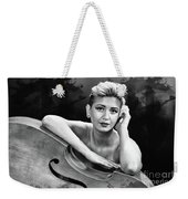 Young Woman Nude 1729.574 Weekender Tote Bag