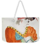 Young Woman Wearing A Turban  Weekender Tote Bag