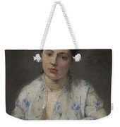 Young Women By Berthe Morisot Weekender Tote Bag