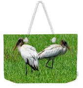Young Wood Storks 2 Weekender Tote Bag