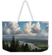 Youngs Bay And Clouds Weekender Tote Bag