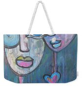 Your Haunted Heart And Me Weekender Tote Bag
