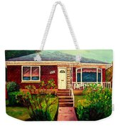 Your Home Commission Me Weekender Tote Bag