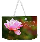 Your In My Thoughts Painting Weekender Tote Bag