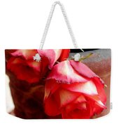 Your Love On Fire Weekender Tote Bag