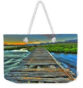 Your Path Lies Before You Weekender Tote Bag