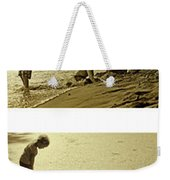 Youth At The Water Weekender Tote Bag