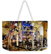 Ytterbium Lattice Atomic Clock Weekender Tote Bag