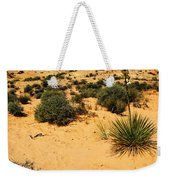 Yucca And Desert Primrose In The Valley Of Fire Weekender Tote Bag
