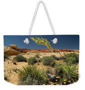 Yucca In The Valley Of Fire Weekender Tote Bag