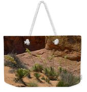 Yucca Plants Valley Of Fire Weekender Tote Bag
