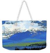 Yukon Mountain Range 3 Weekender Tote Bag