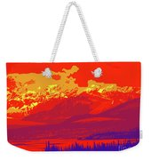 Yukon Mountain Range 4 Weekender Tote Bag