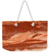 Yukon Mountain Range 5 Weekender Tote Bag