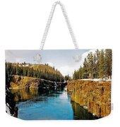 Yukon River And Miles Canyon - Whitehorse Weekender Tote Bag