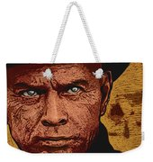 Yul Brynner Weekender Tote Bag by Antonio Romero