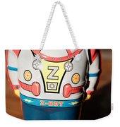 Z-bot Robot Toy Weekender Tote Bag