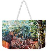 Thanks-giving In A Sacred Shrine Weekender Tote Bag