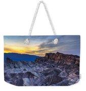 Zabriskie Point Sunset Weekender Tote Bag