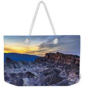 Zabriskie Point Sunset Weekender Tote Bag