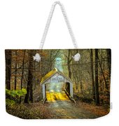 Zacke Cox Covered Bridge Weekender Tote Bag