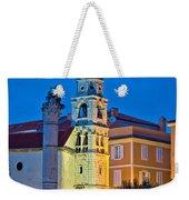 Zadar Landmarks Evening Vertical View Weekender Tote Bag