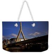 Zakim Bridge And Boston Garden At Sunset Weekender Tote Bag