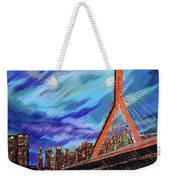 Zakim Bridge - Boston Weekender Tote Bag