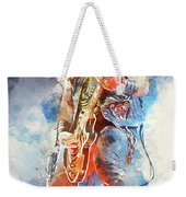 Zakk Wylde - Watercolor 09 Weekender Tote Bag
