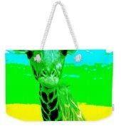 Zany Giraffe Weekender Tote Bag