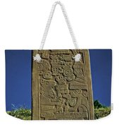Zapotec History Weekender Tote Bag by Juergen Weiss