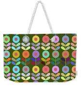 Zappwaits Flower Weekender Tote Bag