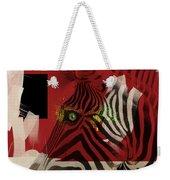 Zebra 4.0 Weekender Tote Bag