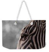 Zebra I Weekender Tote Bag